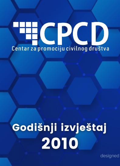 CPCD Godisnji izvještaj 2010.